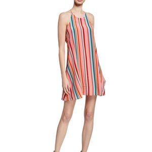 NWT Alice and Olivia Kalia Multicolored Mini Dress